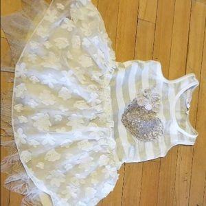 Baby Sara size 4 tutu dress Easter ready!